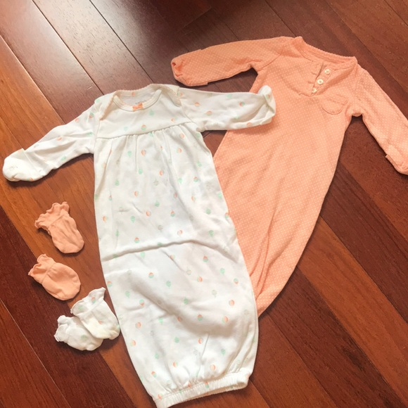 Carter\'s Matching Sets | Host Pick Bundle 2 Baby Gowns And Infant ...
